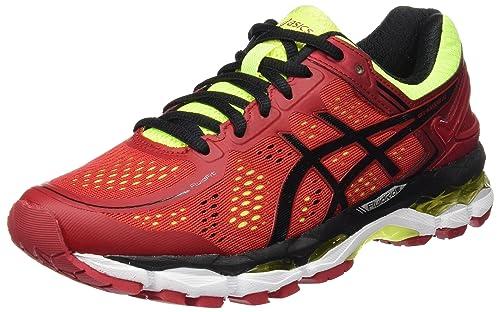 Zapatos rojos Asics Kayano para hombre M3FXNy4