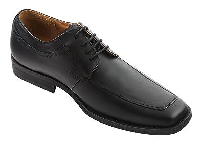 Wizfort Black Oxford Shoes, Mens Dress Shoes, Oxfords, Lace Up Shoes for Men