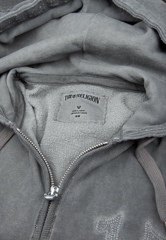 True Religion Men's Casual Plain Long Sleeve Cardigan