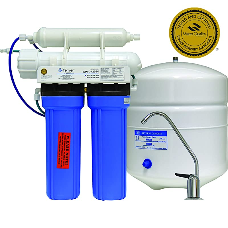 Watts Premier 500025 4SV 4-Stage Reverse Osmosis System
