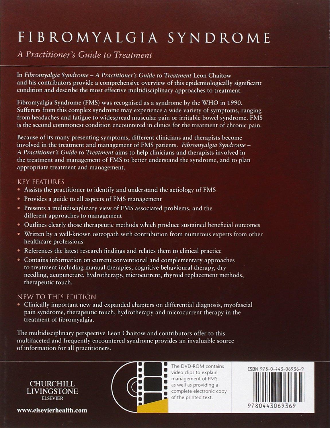 Fibromyalgia Syndrome: A Practitioners Guide to Treatment, 3e: Amazon.es: Chaitow ND DO (UK), Leon: Libros en idiomas extranjeros