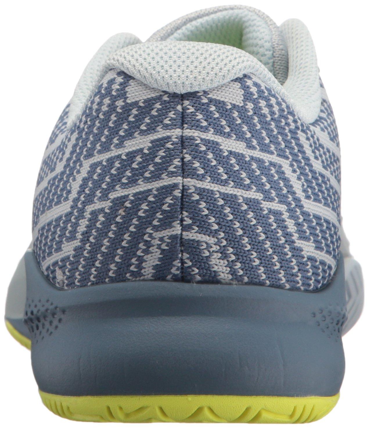 New Balance Women's 996v3 Hard Court Tennis Shoe B06XSG4MD6 55 D US|Light Porcelain Blue/Solar Yellow
