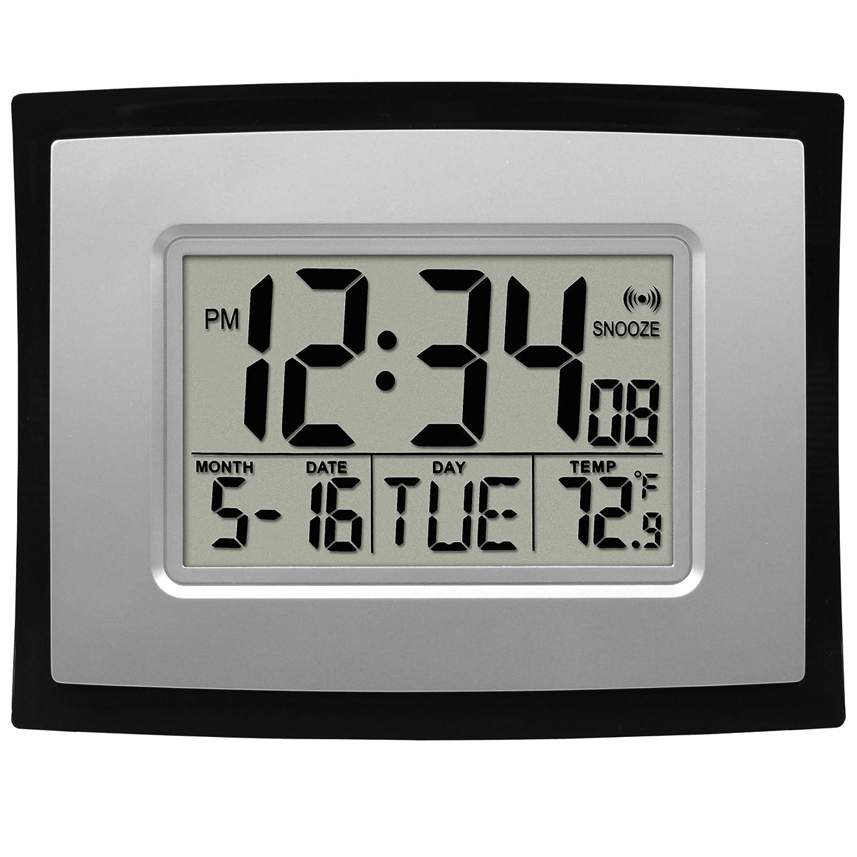 digital office wall clocks digital. brilliant digital la crosse technology digital wall clock for office clocks