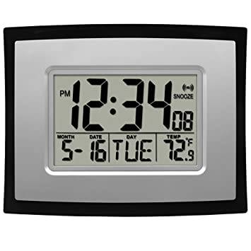 Buy La Crosse Technology Digital Wall Clock Online at Low Prices
