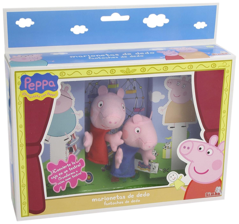 Peppa Pig - Marionetas de dedo (Simba 4589391): Amazon.es: Juguetes y juegos