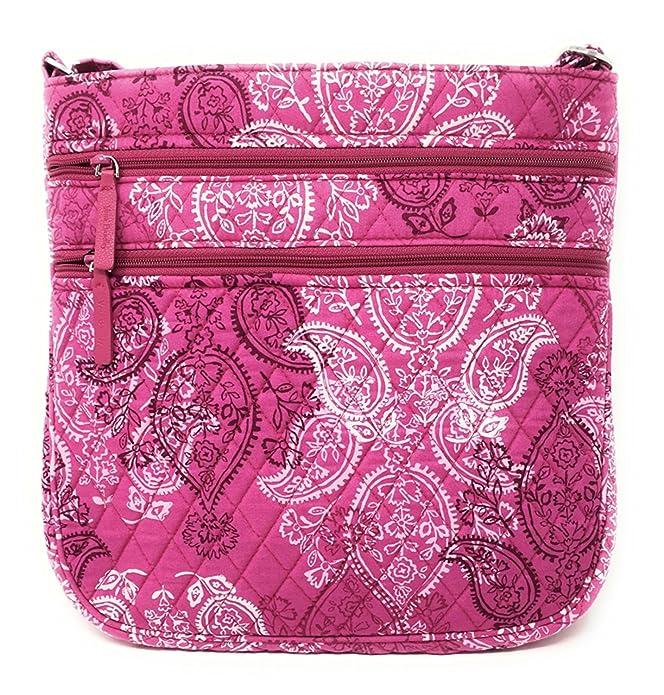 Amazon.com: Vera Bradley Triple Zip Hipster - Bolso para ...
