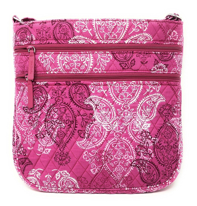 【あすつく】 Vera Bradley レディース Interior B0795YK1R1 Stamped With Interior Paisley With Pink Interior Stamped Paisley With Pink Interior, 今年も話題の:aa4619ba --- efichas.com.br