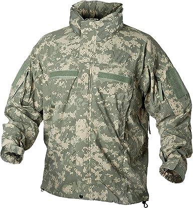 II Hooded Jacket MP Camo Helikon Level 5 Mens Hunting Soft Shell Tactical Ver