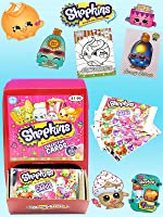 Shopkins Collector Cards With Glitter and Color In Cards