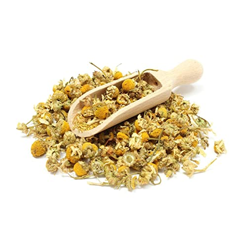 Organic CHAMOMILE Dried Flowers Loose Leaf Herbal Tea Grade *A* Premium Quality! Soil Association Certified FREE P&P (100g)