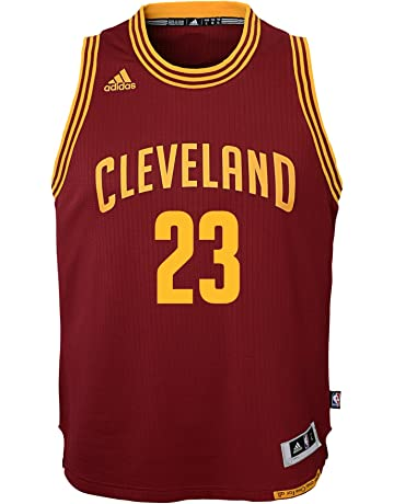 adidas Lebron James Cleveland Cavaliers NBA Youth Swingman Jersey - Red 019bb5b41
