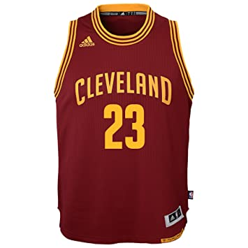 pretty nice d94b8 2349a adidas Lebron James Cleveland Cavaliers NBA Youth Swingman ...