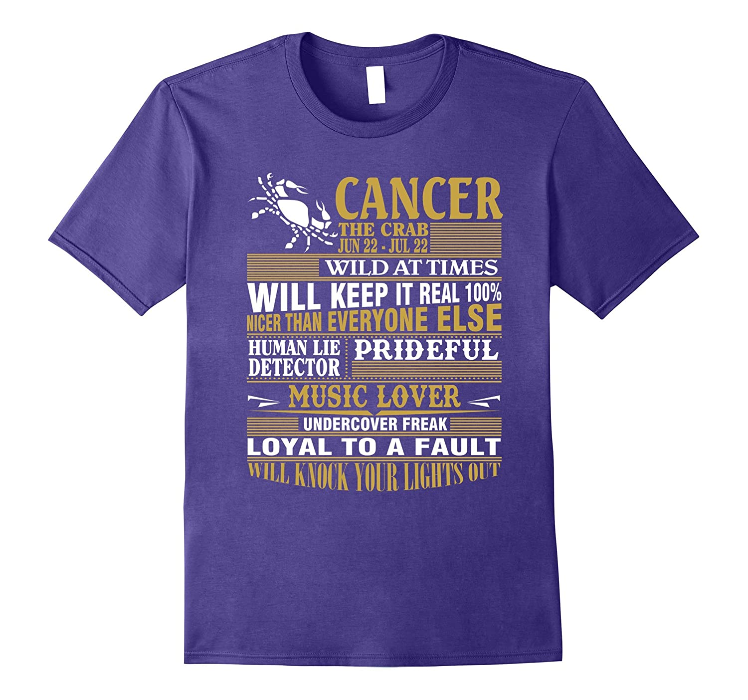 Cancer thing, Cancer Facts Shirts for mens and womens-FL