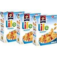 3-Pack Quaker Life Original Cereal (13 oz Boxes)
