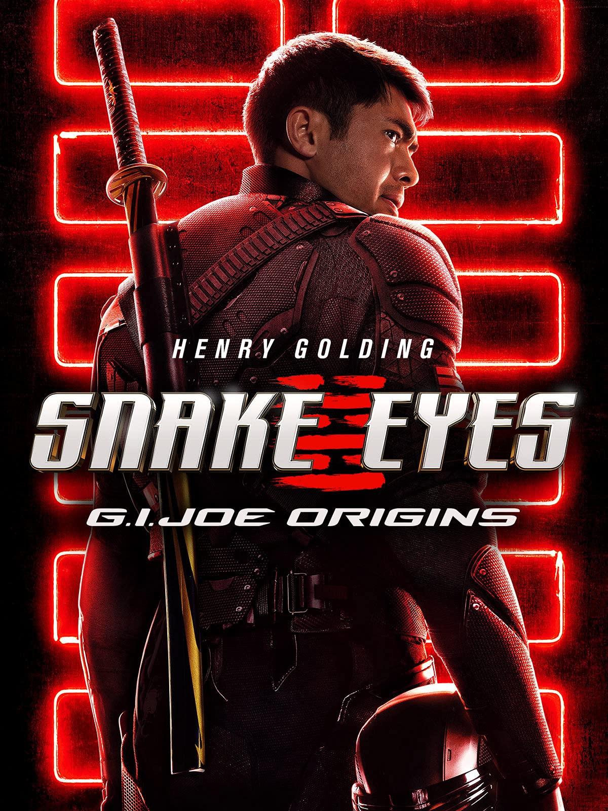 Watch Snake Eyes G I Joe Origins Prime Video