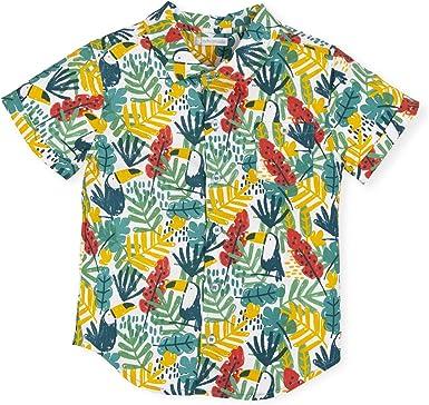Tutto Piccolo 6770S19 Camisa Manga Corta Niño Algodón (Tallas ...