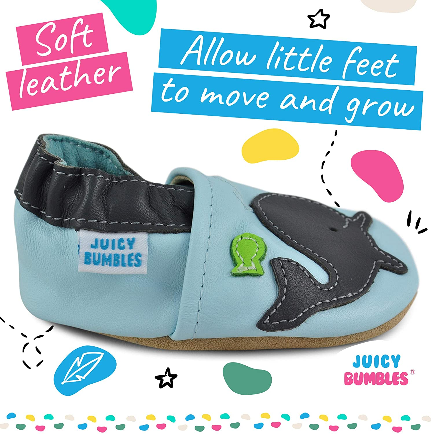 Baby Boy Shoes Leather Toddler Shoes Baby Girl Shoes Baby Walking Shoes Baby Shoes with Soft Sole