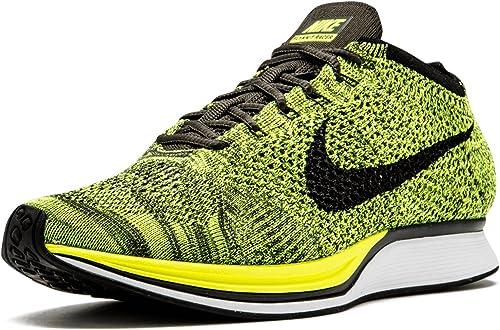 Nike Flyknit Racer, Zapatillas de Running para Mujer, Verde (Verde ...