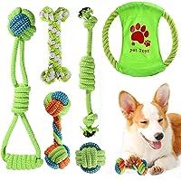 ACE2ACE Juguete masticable para perros, 6 paquetes de juguetes para masticar para cachorros