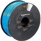 Amazon Basics ABS 3D Printer Filament, 1.75mm, Blue, 1 kg Spool