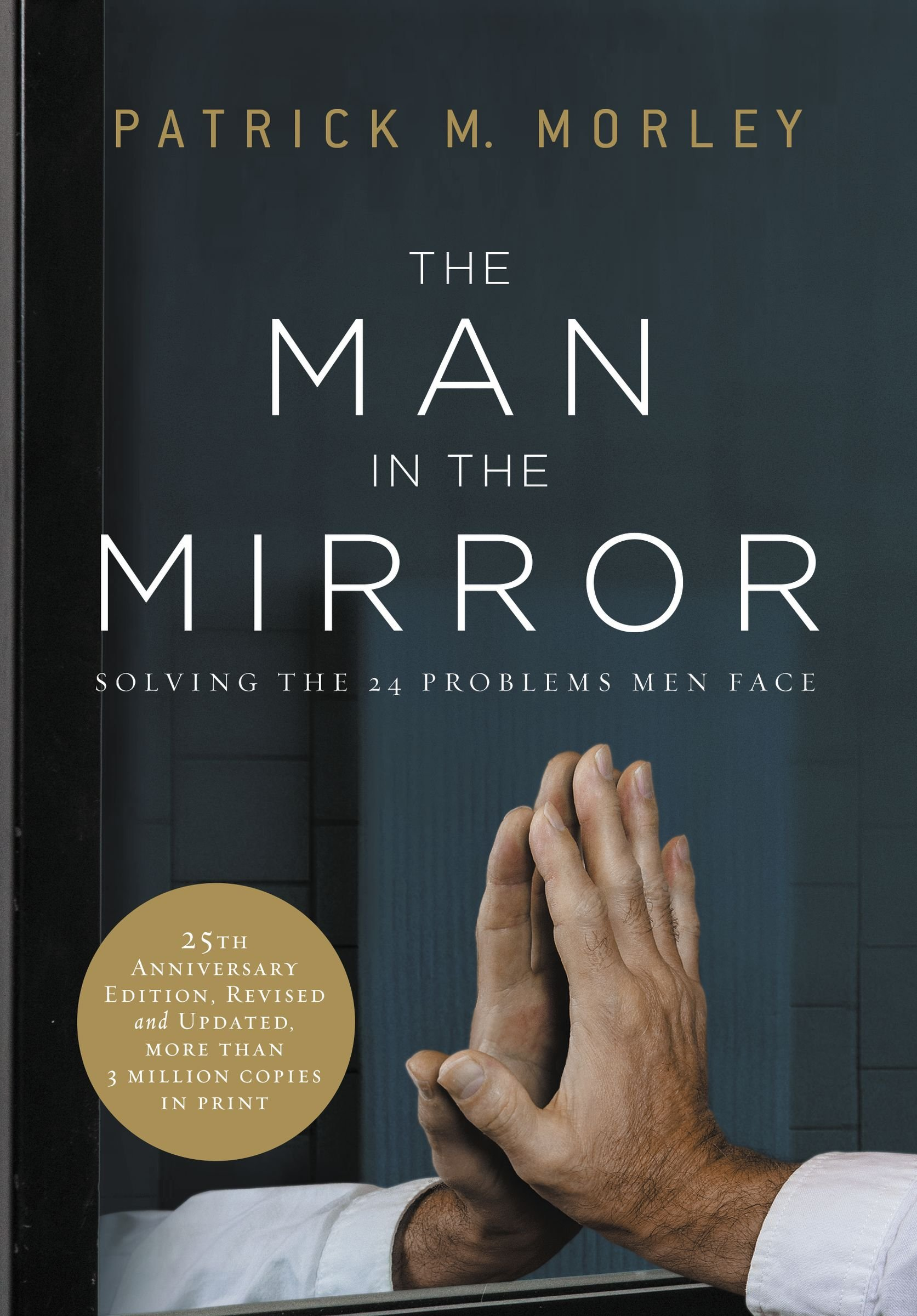 Man Mirror Solving Problems Face product image