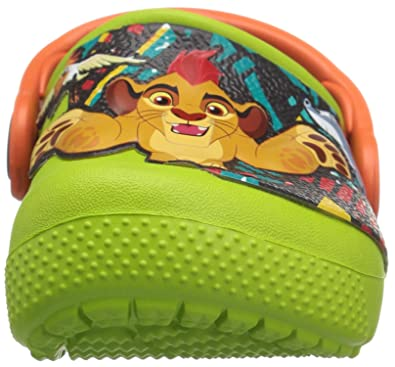 1c3ed2f260bcb0 Crocs Kids  Crocsfunlab Lion Guard Clog  Amazon.ca  Shoes   Handbags