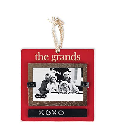 Amazon.com : Mud Pie Ornament Frame, The Grands : Nursery Picture ...