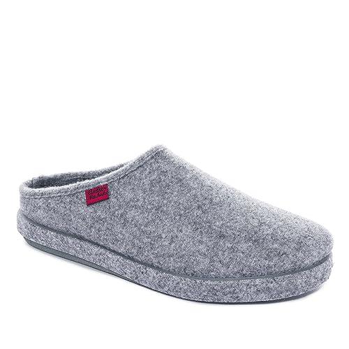 Sleepers - Zapatillas de estar por casa para mujer, color Gris, talla 37 1/3