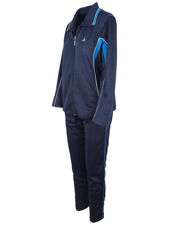 Jogginganzug Sportanzug Model 2 SOUNON/® Damen Baumwolle Trainingsanzug Freizeitanzug Hausanzug