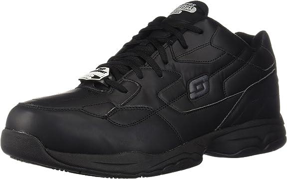 2. Skechers for Work Men's Felton Slip-Resistant Work Shoe