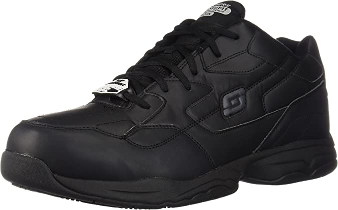 Slip Resistant Relaxed-Fit Work Shoe