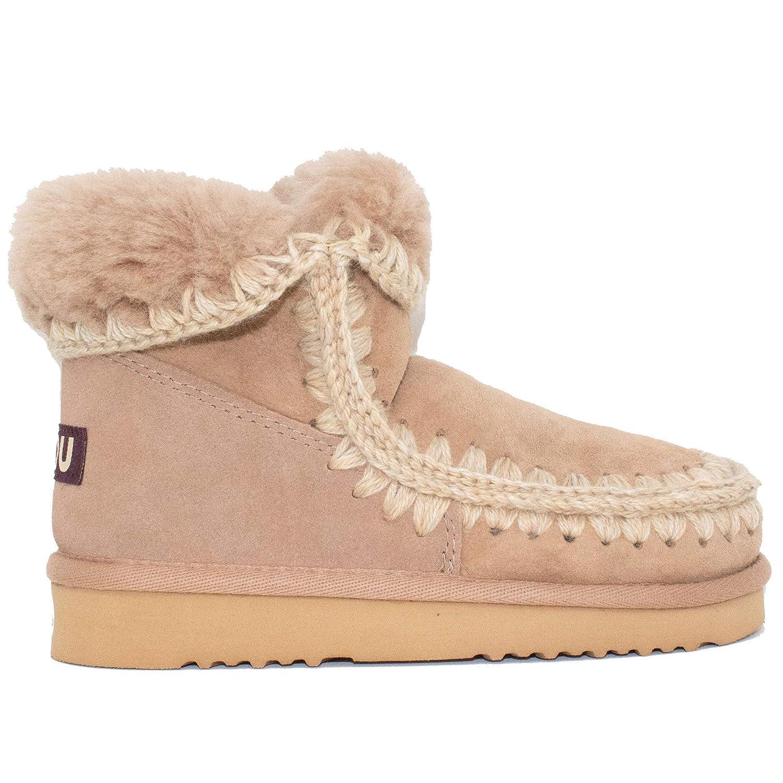 87364f8c0a1 Amazon.com | Mou Women's Eskimo 18cm Boots, Camel (Camel/CAM), 36 ...