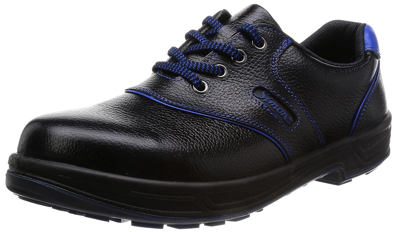 [シモン] simon [シモン]simon SL11 安全靴 JIS B003MLUEVO  ブラック/ブルー 25.5 cm