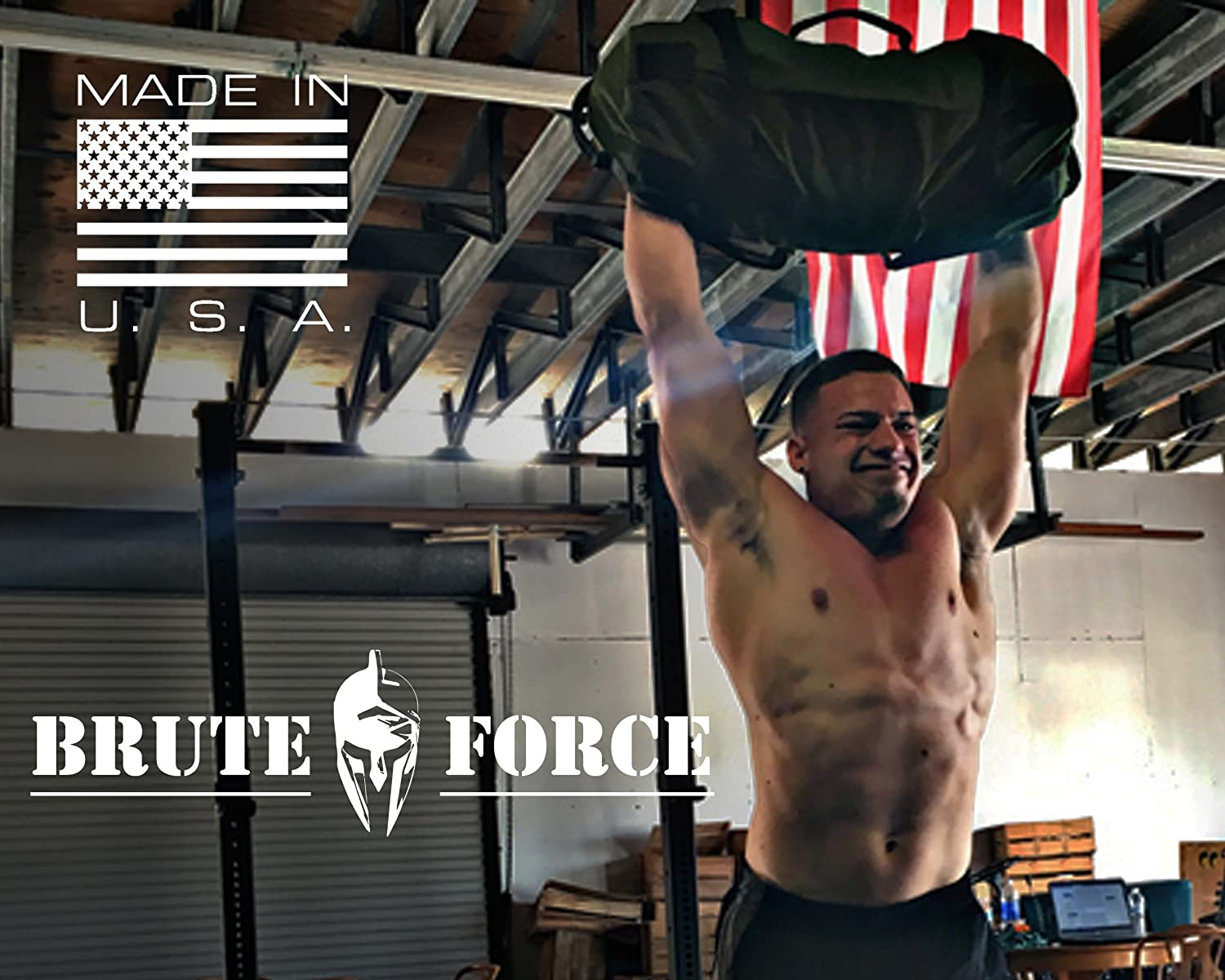 4b73f3a74138 Amazon.com   Brute Force Sandbags are Heavy Duty Workout Sandbags for  Fitness