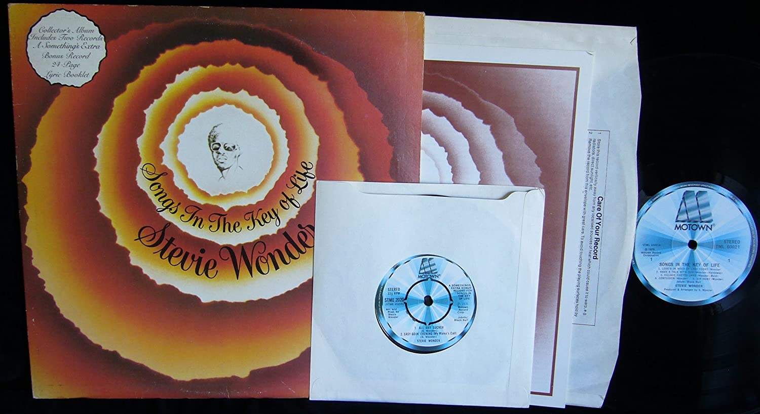 Songs in the Key of Life (UK 1st pressing Motown Records double