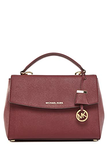 MICHAEL MICHAEL KORS Ava Medium Saffiano Leather Satchel 4f9ac5c7f644b