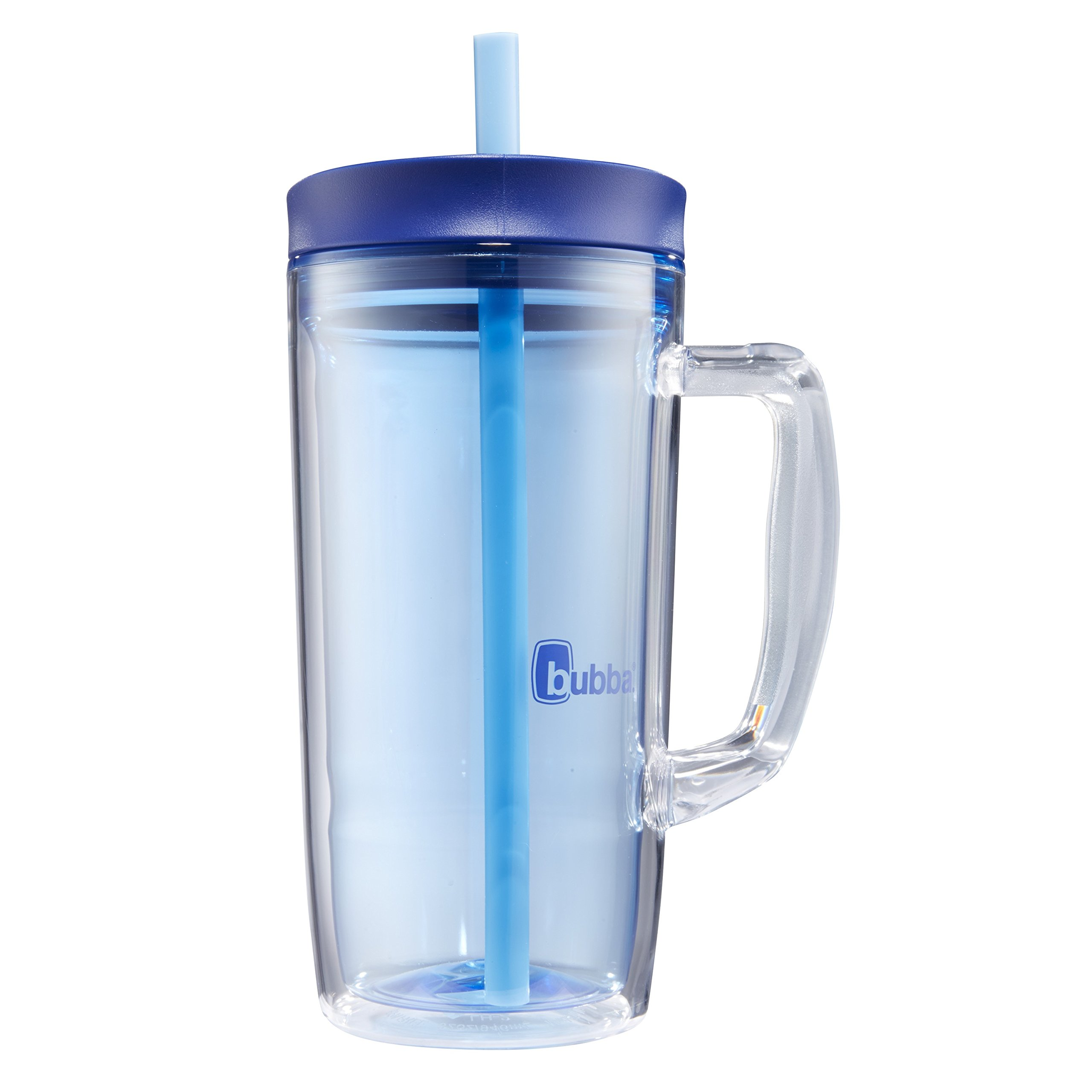 Bubba Envy Double Wall Insulated Straw Tumbler with Handle, 32 oz, Blue