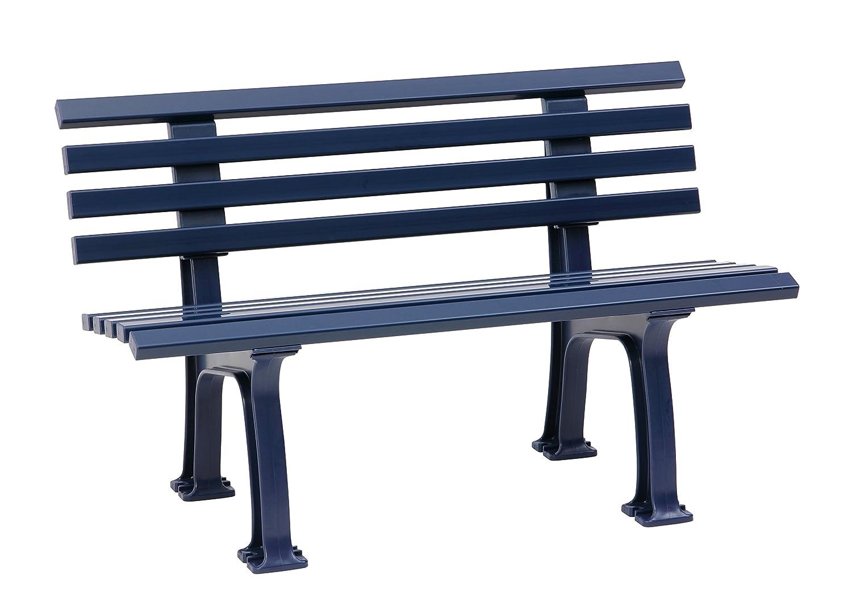 Sitzbank / Gartenbank 2-Sitzer: Ibiza, Länge 120cm, blau ...