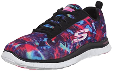 2330fe0e488a Skechers Sport Women's Cosmic Rays Fashion Sneaker,Black Cosmic,6 ...
