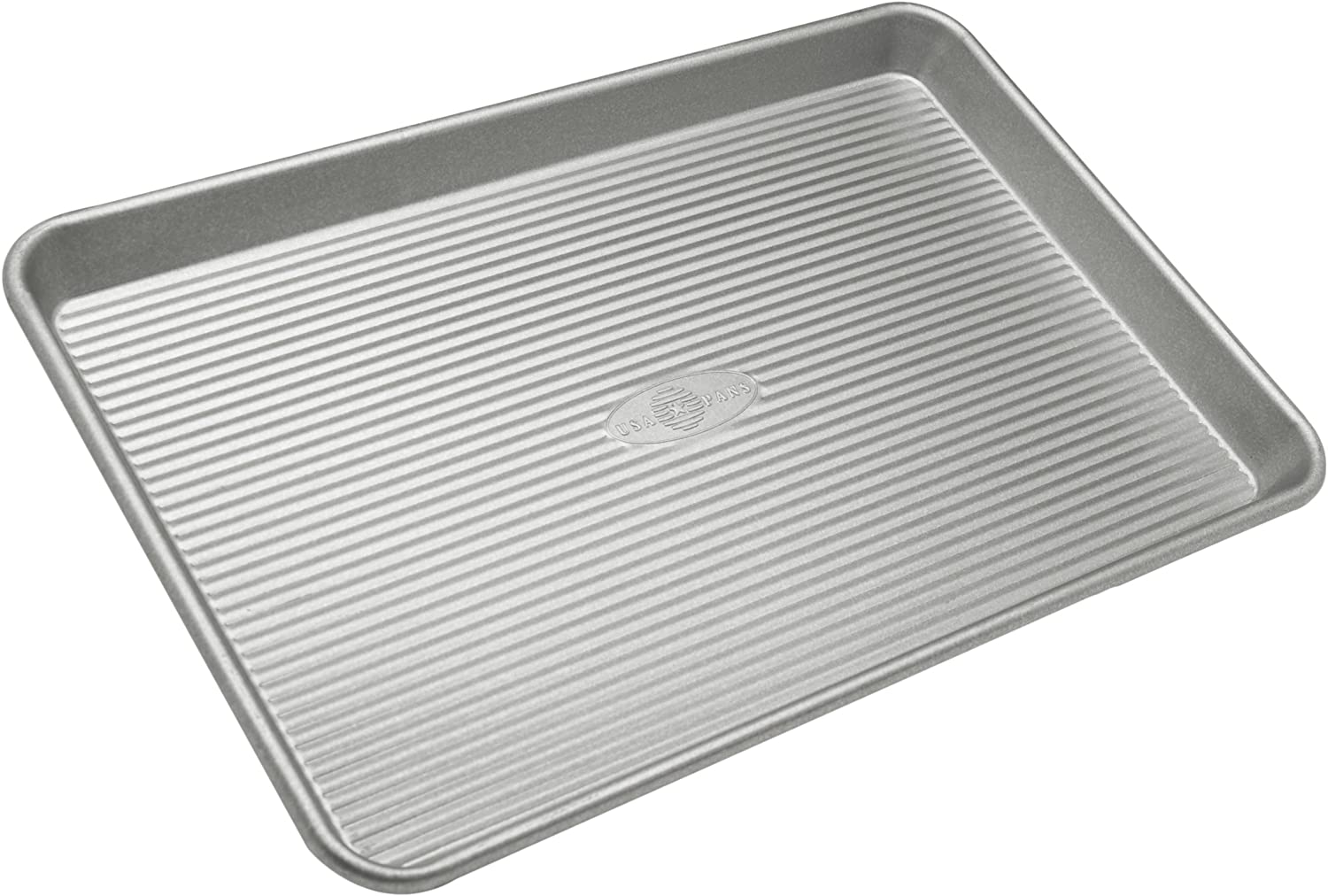 Amazon Com Usa Pan Bakeware Jelly Roll Pan Warp Resistant Nonstick Baking Pan Made In The Usa From Aluminized Steel Jelly Roll Pans Kitchen Dining