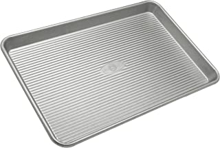product image for USA Pan Bakeware Jelly Roll Pan, Warp Resistant Nonstick Baking Pan, Made in the USA from Aluminized Steel