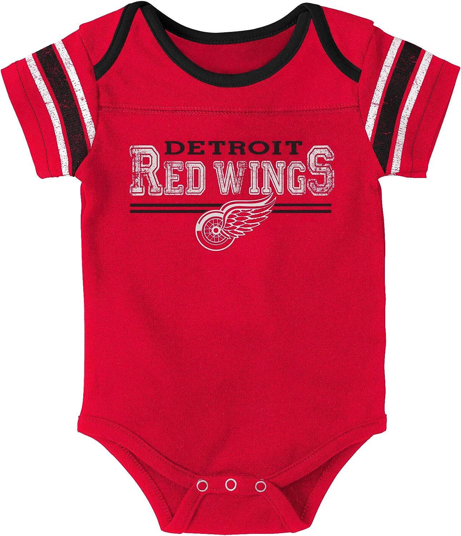 Detroit Red Wings Newborn Definitive 2-Piece Creeper Set