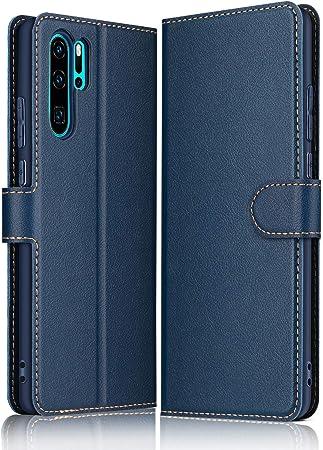 Elesnow Hülle Für Huawei P30 Pro Premium Leder Flip Elektronik