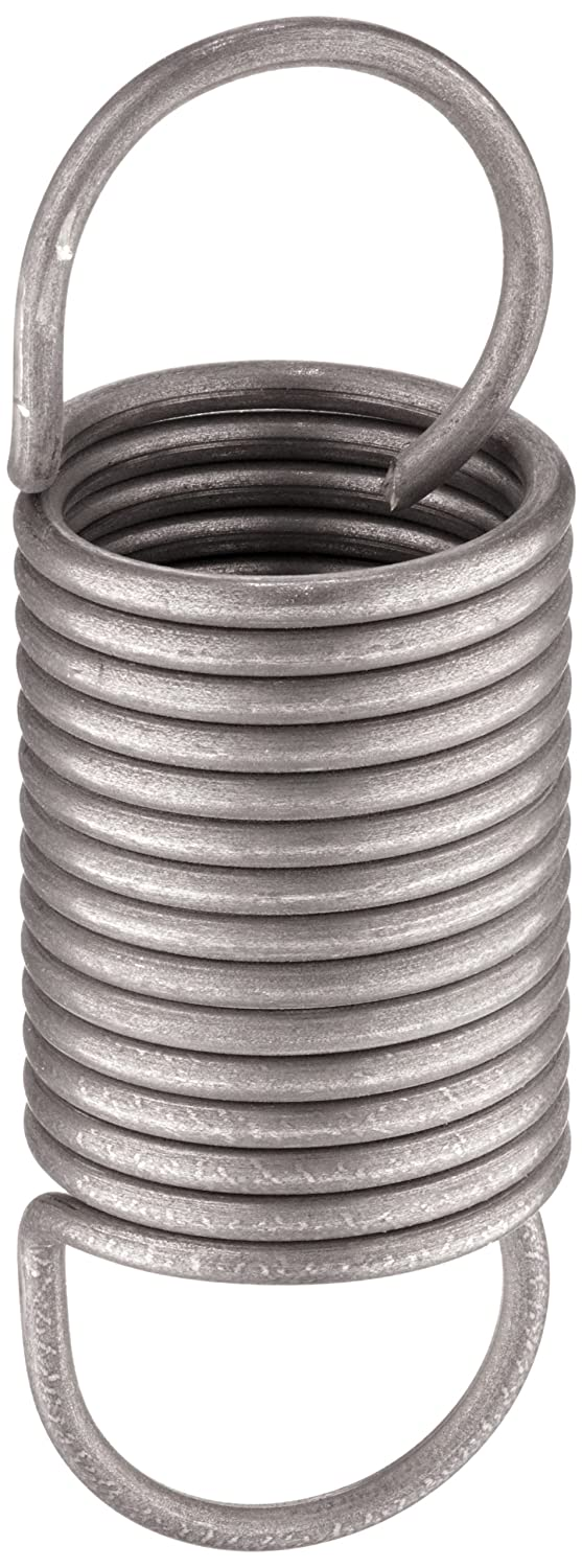 0.71 N//mm Spring Rate 87.0 N Load Capacity 73 mm Free Length 1.8 mm Wire Size 178 mm Extended Length Pack of 10 20 mm OD Steel Associated Spring Raymond T32270 Music Wire Extension Spring Metric