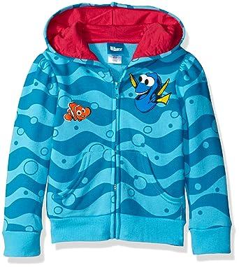 b114b43f79b6 Amazon.com  Disney Little Girls  Finding Dory Hoodie