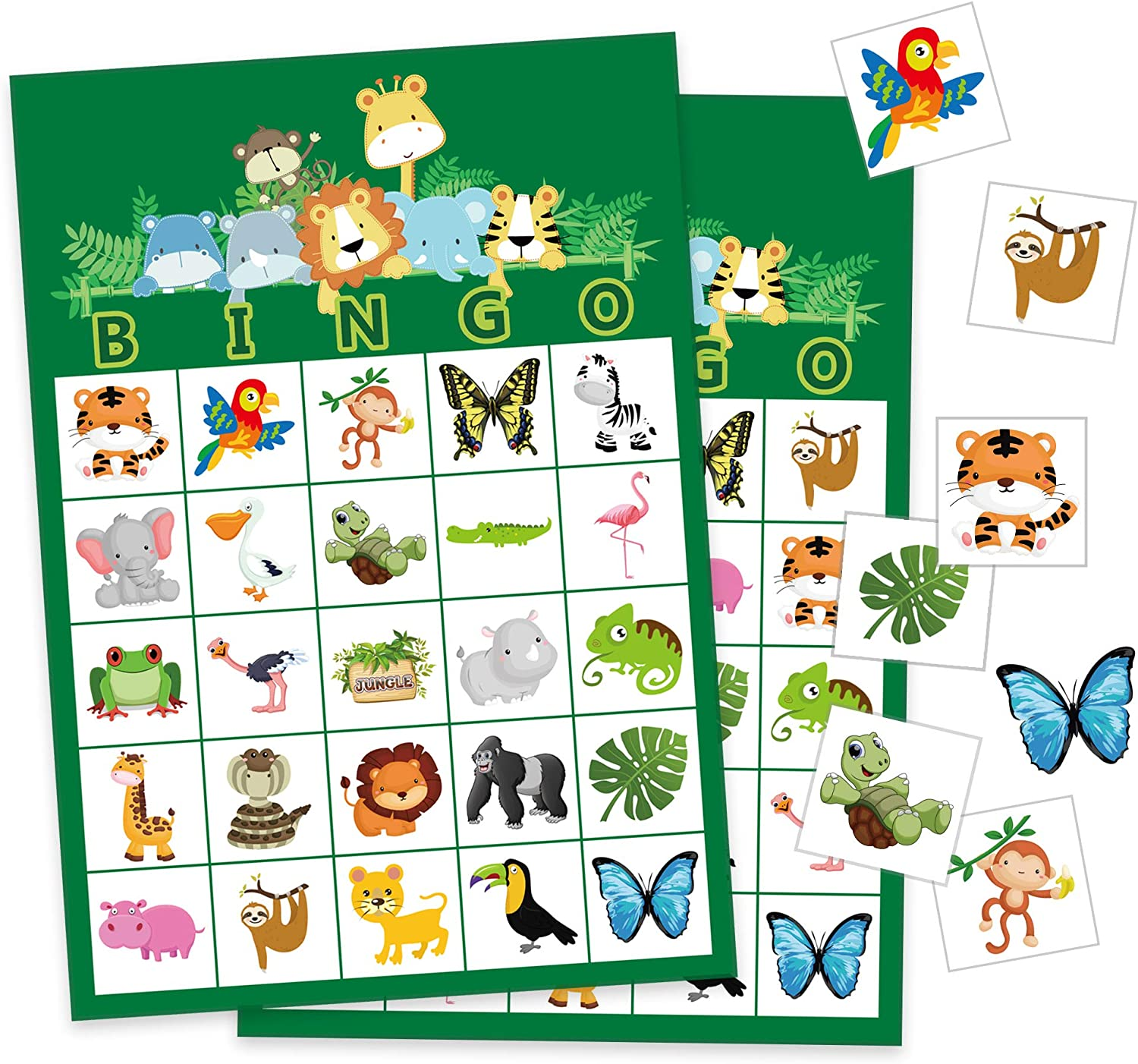 24 Players Game for Baby Shower Baby Shower Bingo