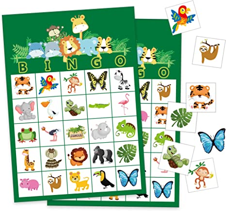 Amazon.com: Happy Storm Jungle Party Games - Juego de cartas ...