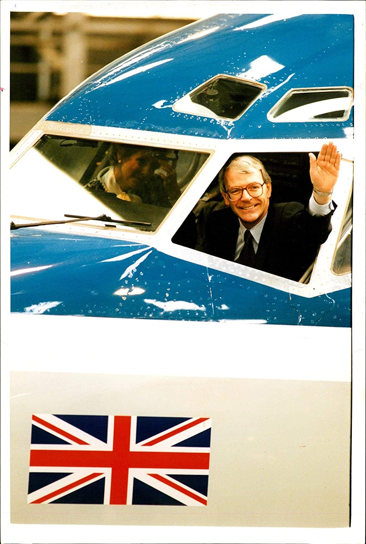 Fotomax Vintage Photo of John Major