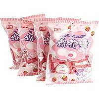 四洲棉花糖草莓味90g*4