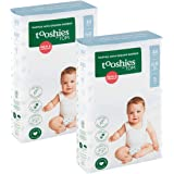 Tooshies by TOM Size 3 Crawler Bamboo Disposable Eco Nappies 6-11kg, Size 3, 88 count